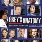 Grey's Anatomy: The Complete Sixth/6TH Season (DVD, 2010, 6-Disc Set)