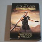 Gladiator (DVD, 2005, 3-Disc Set, Extended Edition) BOX SET RUSSELL CROWE