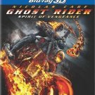 Ghost Rider: Spirit of Vengeance (Blu-ray Disc, 2012, 2-Disc Set, Includes...NEW