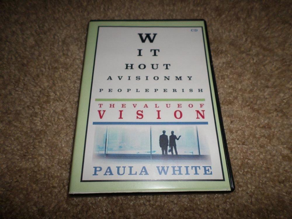 PAULA WHITE THE VALUE OF VISION CD SET