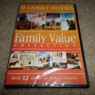 Family Value Collection: 9 Movies FURY,TOM ALONE (DVD, 2014, 2-Disc Set) NEW