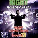 Fright Night: Horror Classics 3 Pack (DVD, 1998, 3-Disc Set) BRAND NEW