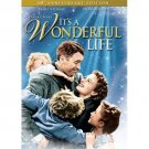 It's a Wonderful Life (DVD, 2006, 60th Anniversary Edition) JAMES STEWART NEW