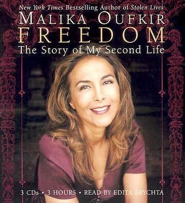Freedom : The Story of My Second Life by Malika Oufkir (2006, CD, Abridged) NEW