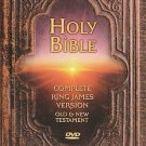 Holy Bible: King James Version - Complete Bible (DVD, 2003, 2-Disc Set) NEW