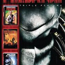 Predator - Triple Feature (DVD, 2008, 3-Disc Set, Sensormatic) W/SLIP