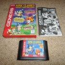 Sonic Classics  (SEGA Genesis, 1997) COMPLETE W/ CARDBOARD SLEEVE