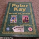 PETER KAY LIVE COLLECTION REGIONS 2 & 4 BOX SET DVD LIVE TOP TOWER/ALBERT HALL