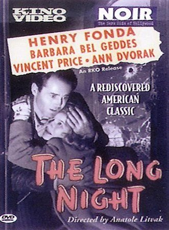 The Long Night (DVD, 2000) HENRY FONDA,VINCENT PRICE