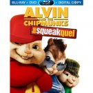 Alvin and the Chipmunks: The Squeakquel (Blu-ray/DVD, 2010, 3-Disc Set,. NO DVD