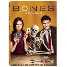 Bones - Season 3 (DVD, 2009, 5-Disc Set, Checkpoint; Sensormatic; Widescreen)