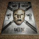 SAW 5-DISC DVD COLLECTOR'S SET SAW/SAW II/III/V/IV