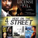 Heat on the Street: 4 Movies, Vol. 2 LICENSE TO KILL,ROAD ENDS,ICE (DVD, 2013)