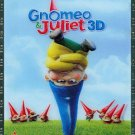 Gnomeo & Juliet (Blu-ray/DVD, 2011, 3-Disc Set, Includes Digital Copy;3D) W/SLIP