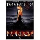 Revenge: The Complete Second /2ND Season (DVD, 2013, 5-Disc Set)