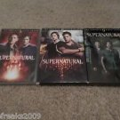 SUPERNATURAL DVD SEASON LOT 8 /9 /5 PLEASE READ