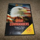 HISTORY CHANNEL GREAT COMMANDERS GEORGE S.PATTON A GENIUS FOR WAR DVD