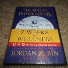 THE GREAT PHYSICIAN'S RX 7 WEEKS WELLNESS JORDAN RUBIN DVD BRAND NEW