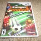 Championship Foosball  (Nintendo Wii, 2008) BRAND NEW