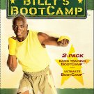 Billy Blanks - Basic Training/Ultimate Bootcamp (DVD, 2005, 2-Disc Set)