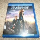 Divergent (Blu-ray/DVD, 2014, 2-Disc Set, Includes Digital Copy; UltraViolet)
