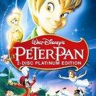 DISNEY Peter Pan (DVD, 2007, 2-Disc Set, Platinum Edition)
