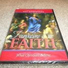 FOUNDATIONS OF THE FAITH PAT ROBERTSON DVD (BRAND NEW)