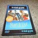 TOTAL GYM START IT UP DVD (BRAND NEW)