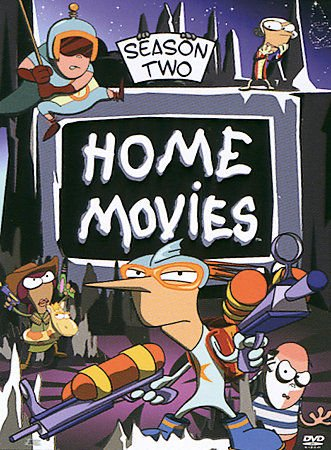Home Movies - Season Two (DVD, 2005, 3-Disc Set) NO SLIP COVER