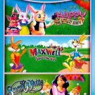 Happy the Littlest Bunny/Maxwell Saves the Day/Snow White (DVD, 2012) BRAND NEW