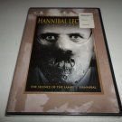 HANNIBAL LECTER SILENCE OF THE LAMBS/HANNIBAL DVD SET BRAND NEW
