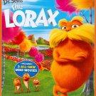 Dr. Seuss' The Lorax (Blu-ray/DVD, 2012, 2-Disc Set) NO DIGITAL
