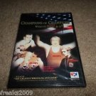 CHAMPIONS OF CHAMPIONS WHAT IT TAKES GREATEST WRESTLING DVD BRAND NEW