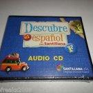 "DESCUBRE EL ESPANOL CON SANTILLANA ""F"" AUDIO CD SANTILLANA USA BRAND NEW"