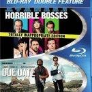 Horrible Bosses/Due Date (Blu-ray Disc, 2015, 2-Disc Set)