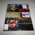 Alexander Revisted/Troy/300 (Blu-ray Disc, 2012, 3-Disc Set) NO DIGITAL W/SLIP
