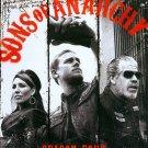 Sons of Anarchy: Season 4/FOUR (Blu-ray Disc, 2012, 3-Disc Set) + BONUS DVD