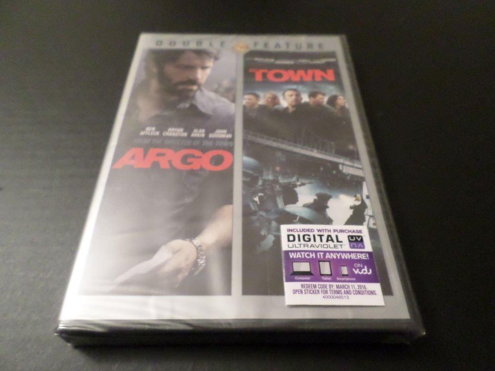 ARGO & TOWN DVD // BEN AFFLECK (BRAND NEW)