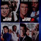 Lethal Weapon Collection: 4 Film Favorites (Blu-ray Disc, 2014, 4-Disc Set)