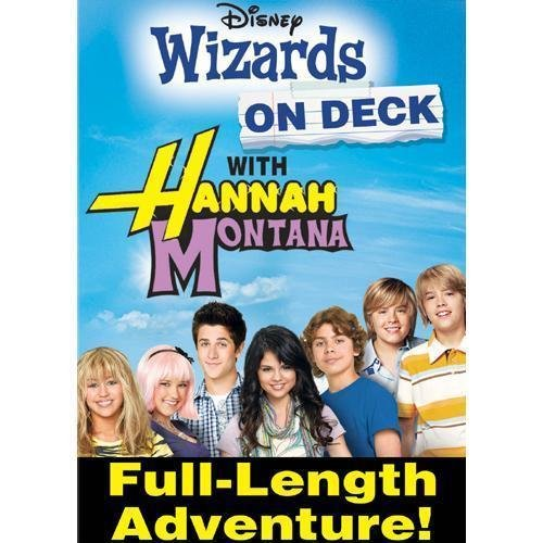 DISNEY Wizards On Deck With Hannah Montana (DVD, 2009) BRAND NEW
