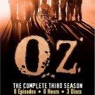 Oz - The Complete Third Season (DVD, 2004, 3-Disc Set)