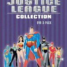 The Justice League Collection - 3 Pack (DVD, 2004, 3-Disc Set)