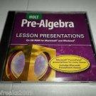 HOLT PRE-ALGEBRA LESSON PRESENTATIONS CD-ROM BRAND NEW
