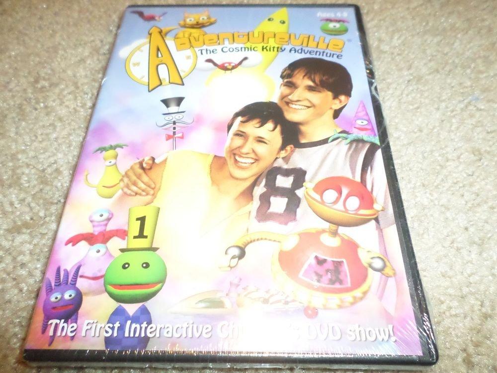 Adventureville - The Cosmic Kitty Adventure (DVD, 2006) BRAND NEW