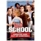 Old School (DVD, 2003, Widescreen; Unrated Version) WILL FERRELL (BRAND NEW)