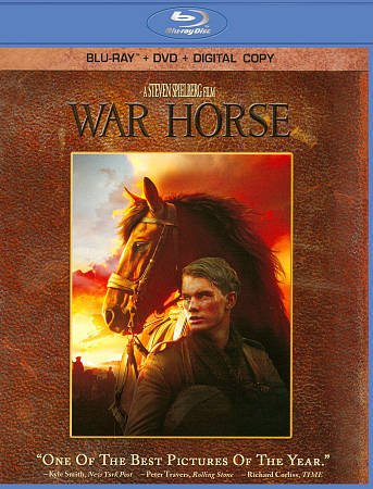 War Horse (Blu-ray/DVD, 2012, 4-Disc Set, Includes Digital Copy) W/SLIP