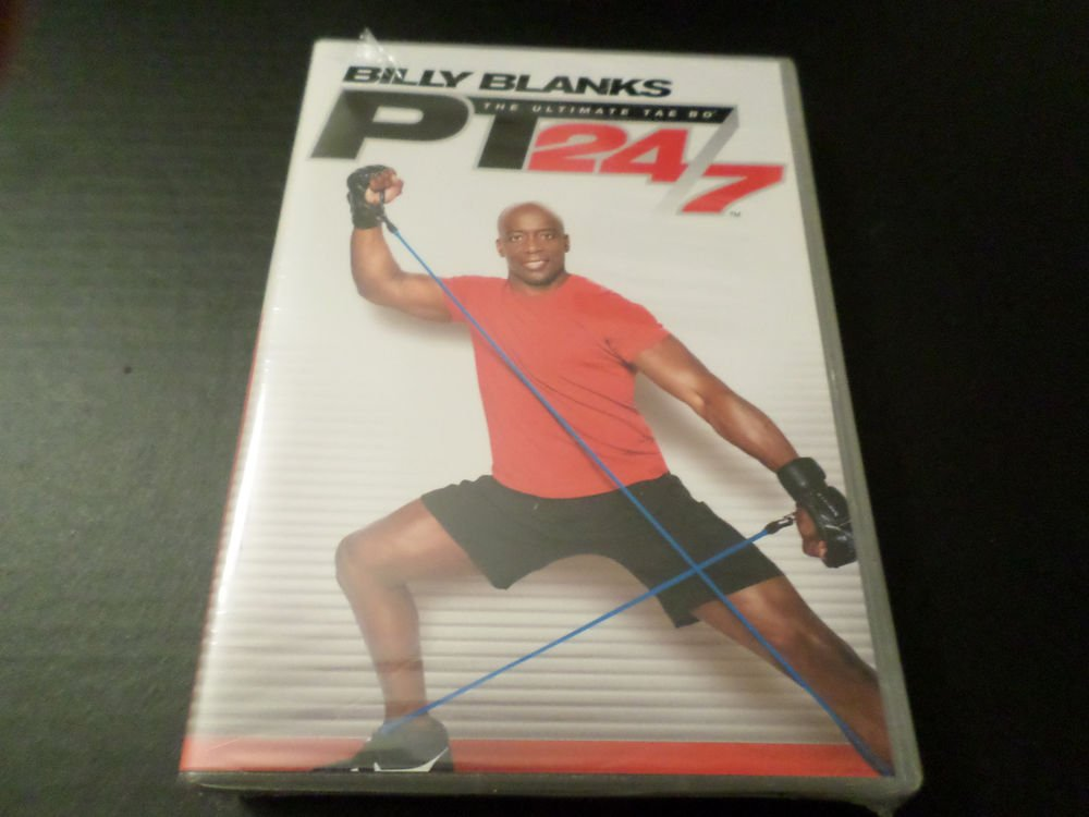 BILLY BLANKS THE ULTIMATE TAE BO PT 24/7 7 DISC DVD ONLY SET (BRAND NEW)