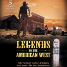 Legends of the American West (DVD, 2004) 5 EPISODE SERIES