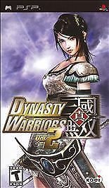 Dynasty Warriors Vol. 2 (Sony PSP, 2006) PLAYSTATION NO MANUAL