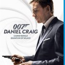 007 Quantum of Solace/Casino Royale (Blu-ray Disc, 2013, 2-Disc Set)
